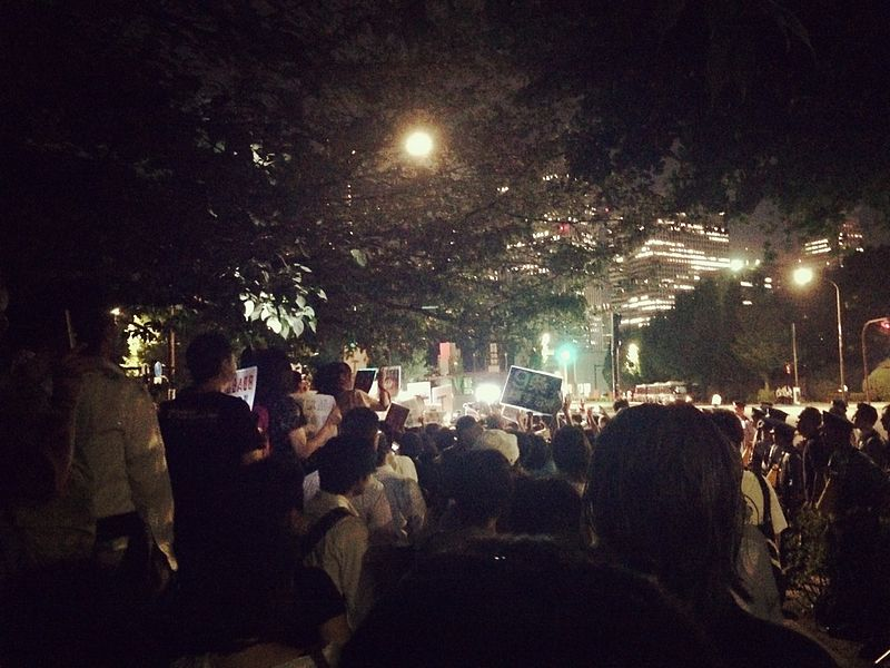 SEALDs protests