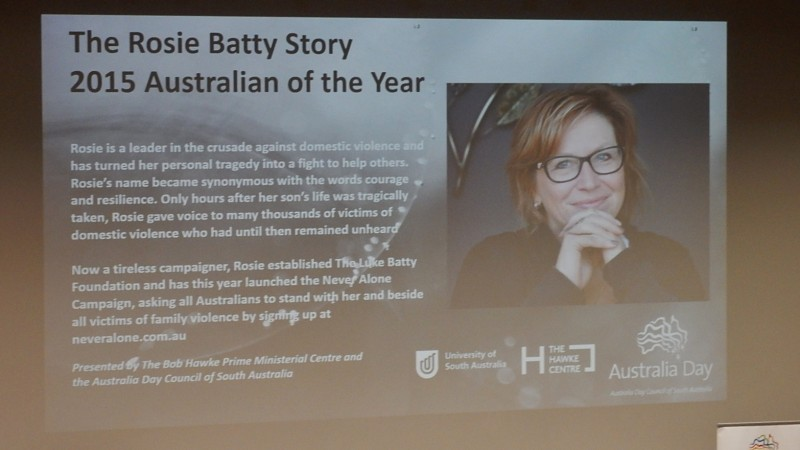 Rosie Batty - Australian of the Year 2015