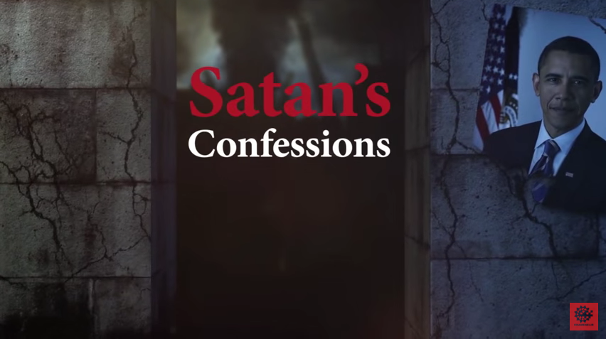 "The Supreme Leader's YouTube video called ""Satan's  Confessions"" on the United States foreign policy on Iran."
