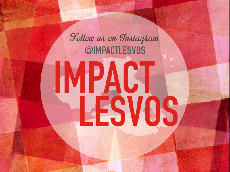 A group of four young women are embarking on a mission to help refugees. You can help too. Follow their mission on @impactlesvos on Instagram