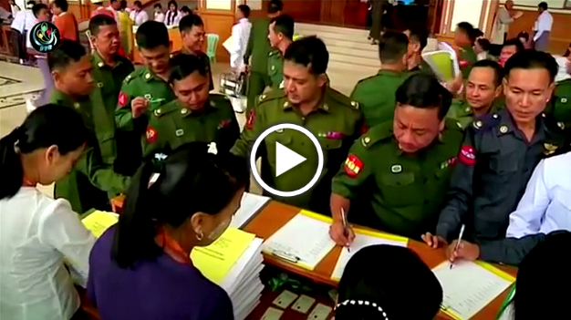 Myanmar Military Election