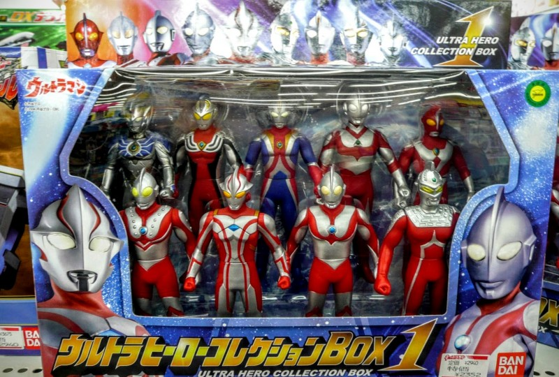 Ultraman action figures