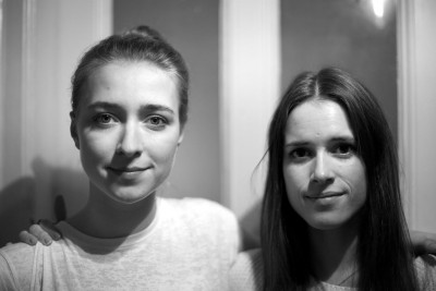 "Babette, left, and Leonie: ""The question is not why are we doing this, it is more like why are we not doing more.""  (Photograph provided by the interviewees)"