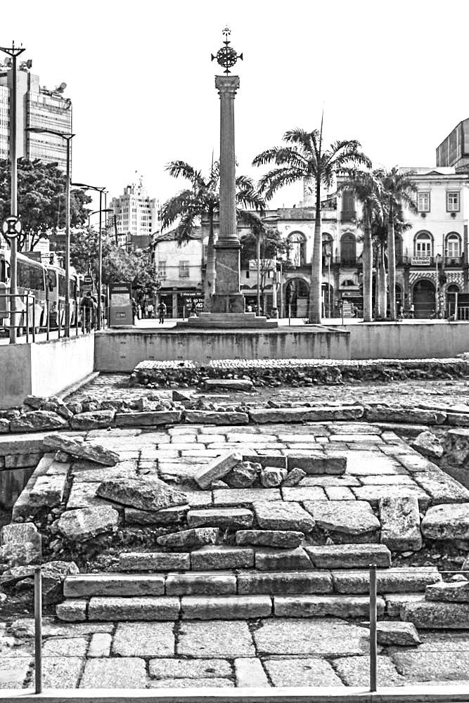 The Valongo was Rio's main slave market during the early 19th century. Credit: Brian Godfrey/CC by 2.0