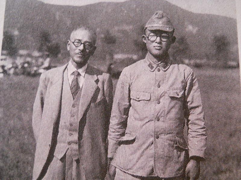 Mizuki Shigeru in military uniform