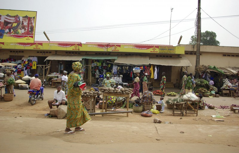 Ouando Market, in Porto-Novo, Benin via Babylas CC-BY-SA 30