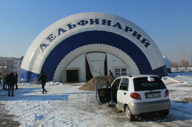 Kyrgyzstan's dolphinarium. Photo from Kloop.kg, used with permission.