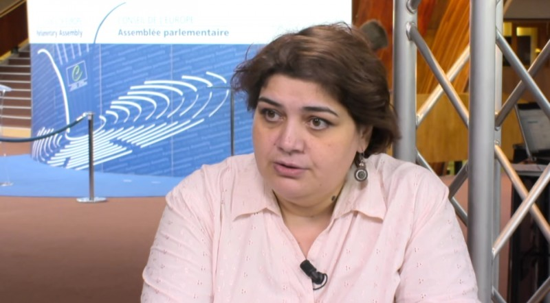 2014 Interview with Khadija Ismayilova published by the Council of Europe's video channel.