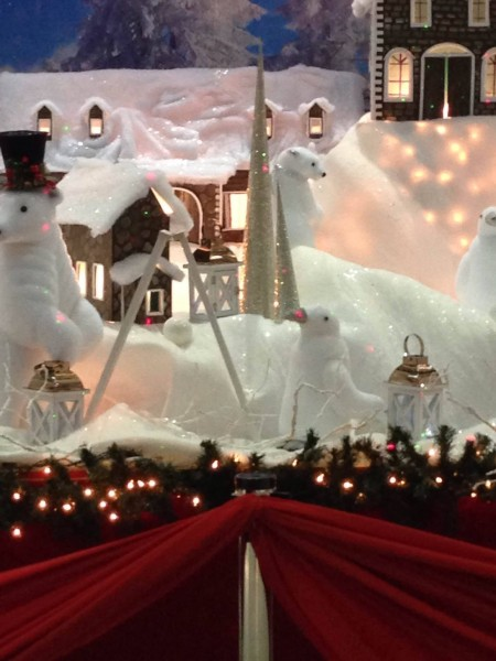 Detail of the 2015 Christmas decor at the Piarco International Airport, Trinidad. Photo by Gregory McGuire, used with permission.