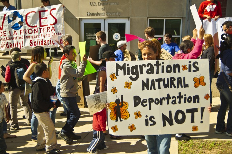 Joe Brusky Follow Migration is Natural, Deportation is Not
