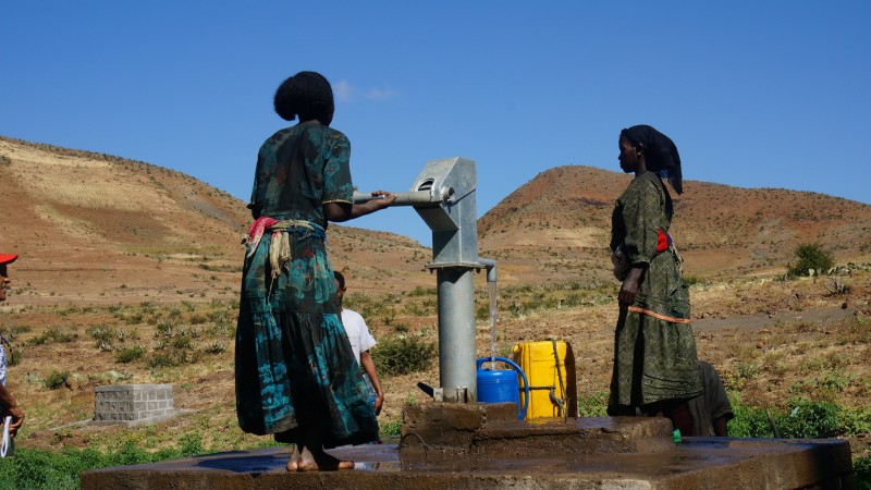 November 11, 2015. Ethiopia is experiencing a severe drought due to two consecutive poor rainy seasons, which means that millions of people are now in need of assistance. Photo by European Union/ECHO/Melaku Asefa. CC BY-ND 2.0