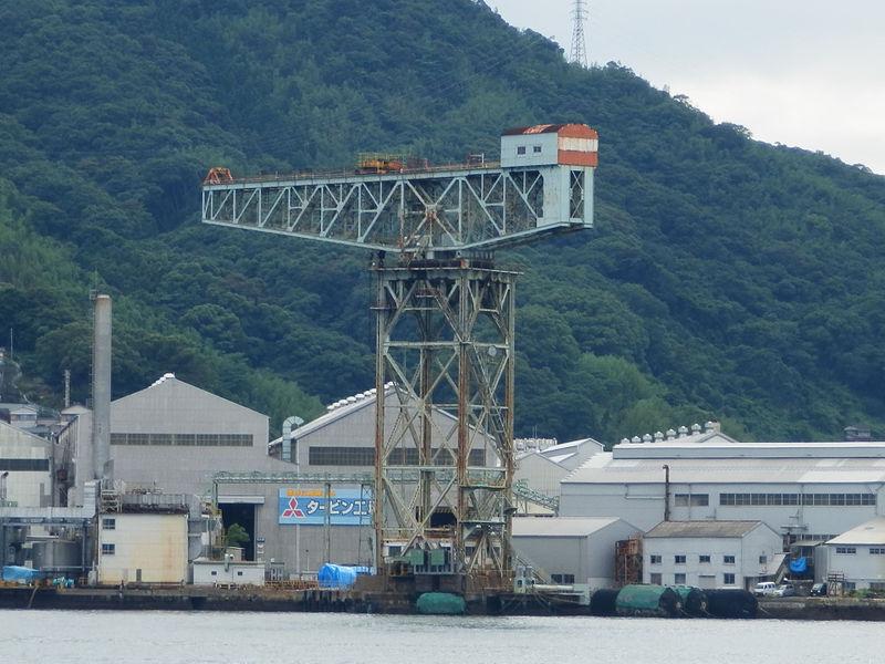 Mitsubishi Nagasaki Hammerhead Crane