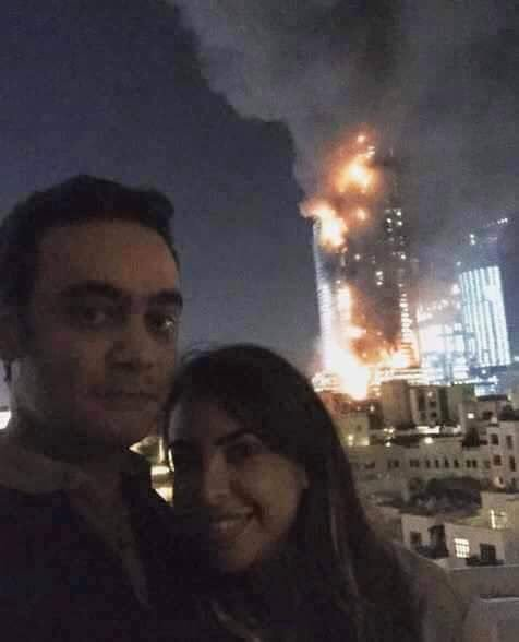 "This selfie by a Kuwaiti couple, shared on Instagram, was described as the ""most inappropriate selfie"" ever. Two other people who posted selfies of themselves were detained and then released"