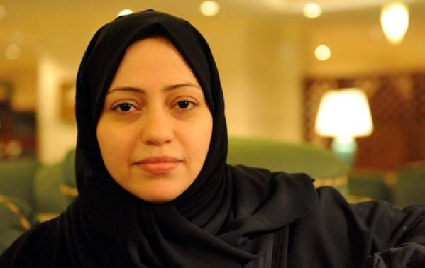Human rights defender Samar Badawi has been arrested in Saudi Arabia reportedly for tweeting on behalf of her husband, jailed human rights activist and lawyer Waleed Abulkhair. Photograph shared by her sister in law Ensaf Haidar (@miss9afi) on Twitter