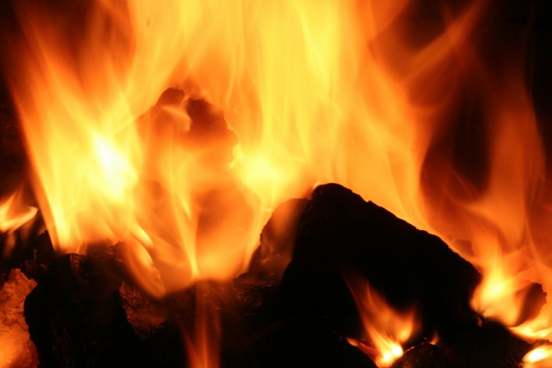 """Fire"" -- Photo by Robbie Shade, used under a CC BY 2.0 license."