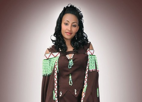 Oromo singer Hawi. Photo from her official Facebook page.