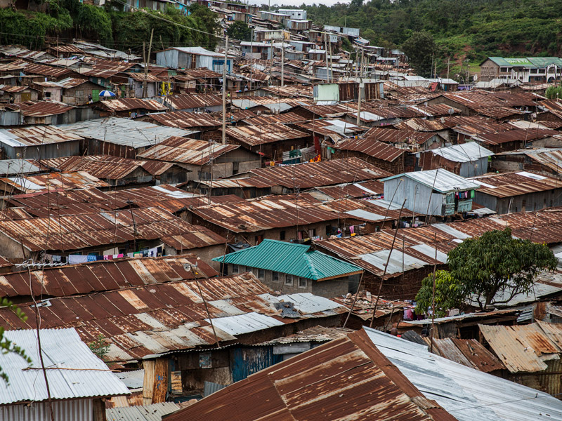 Kibera slum, Nairobi, Kenya. Photo by Flickr user ninara. CC-BY-NC-SA 2.0