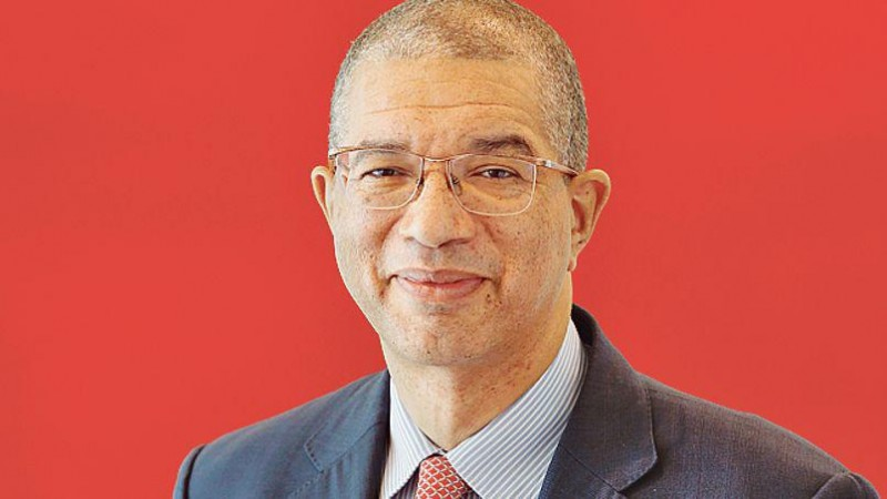 Lionel Zinsou, lead candidate for the FCBE governing party - via Media7 with permission