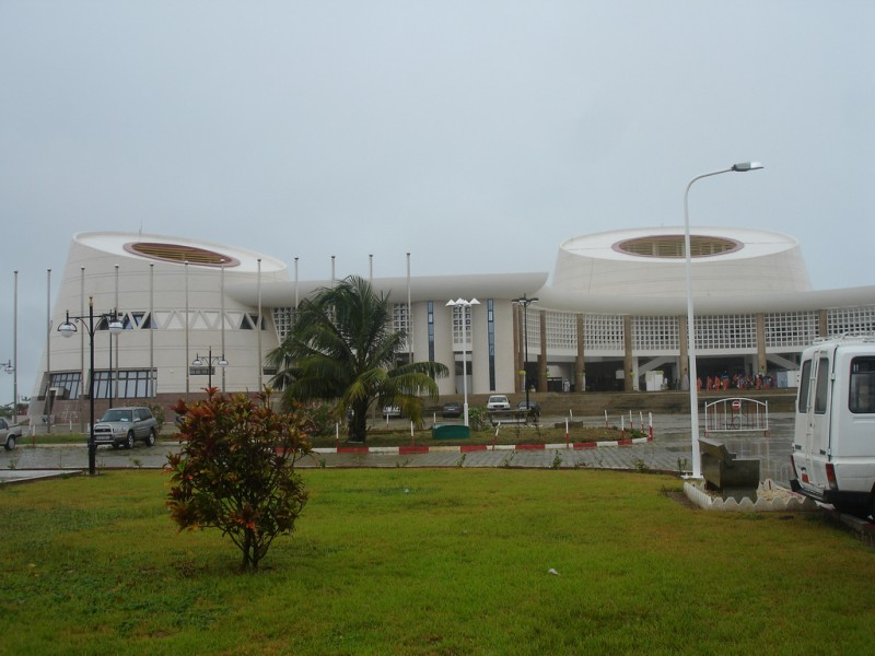 National Assembly - Congress Palace in  Cotonou, Benin. CC-BY-2.0