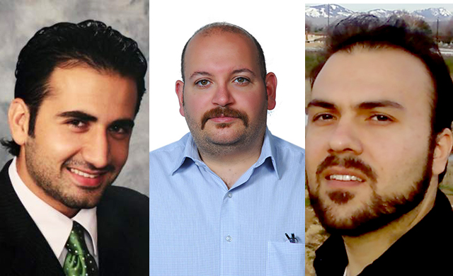 Four Iranian-American prisoners were released today in an agreement with the U.S. government. Image by the International Campaign for Human Rights in Iran.