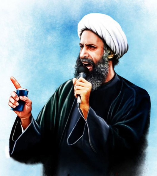 "Saudi Arabia today announced it had executed top Shia cleric Shaikh Nemer Al Nemer under ""terrorism"" charges. Photo credit: Talkhandak.com (CC BY 4.0)"
