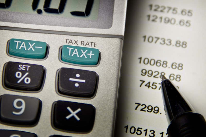 """Calculating Taxes Up And Down""; image by Ken Teegardin, used under a CC BY-SA 2.0 license."