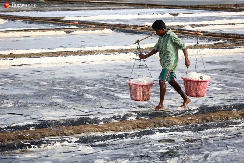 burma salt farm