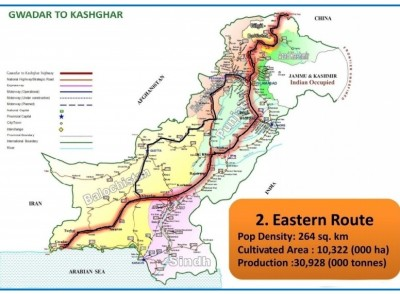 Photo Credit: Eastern route CPEC - Route Controversy Report