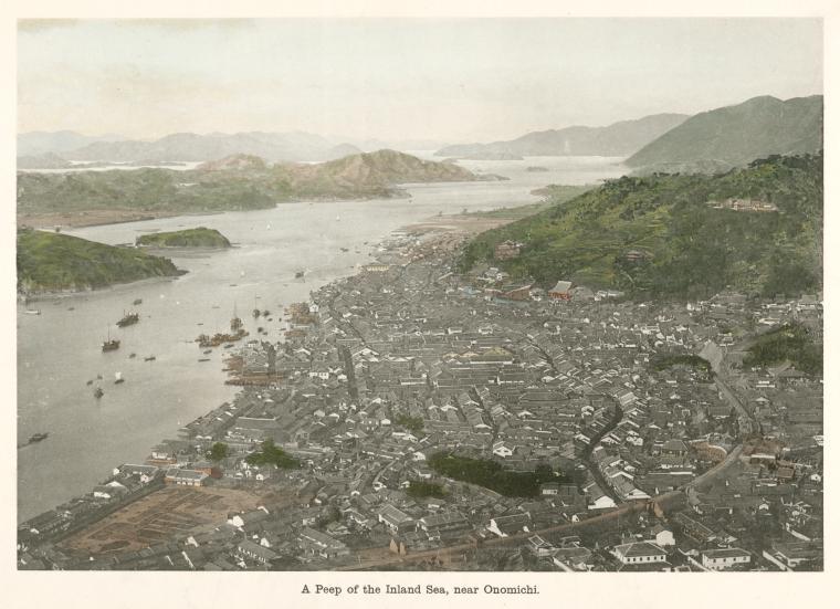 A Peep of the Inland Sea, near Onomichi.