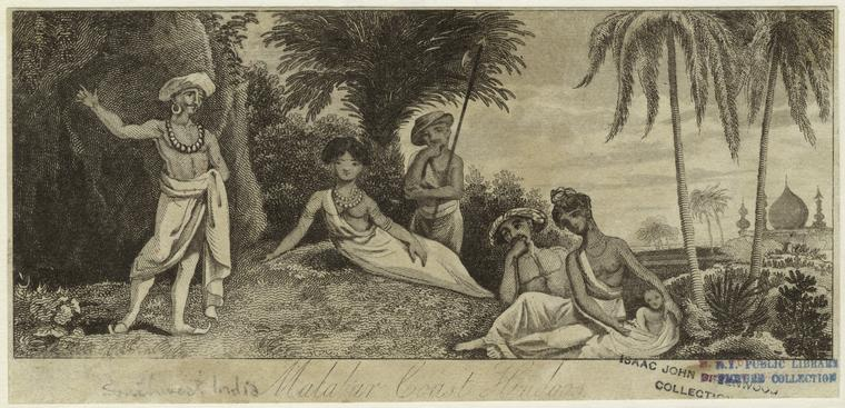 Hindus of Malabar Coast. Photo from The New York Public Library Digital Collections.