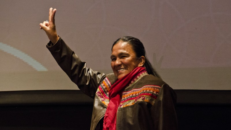 Milagro Sala. Photo:Romina Santarelli/ Argentinian Culture of Ministry under Creative Commons License.