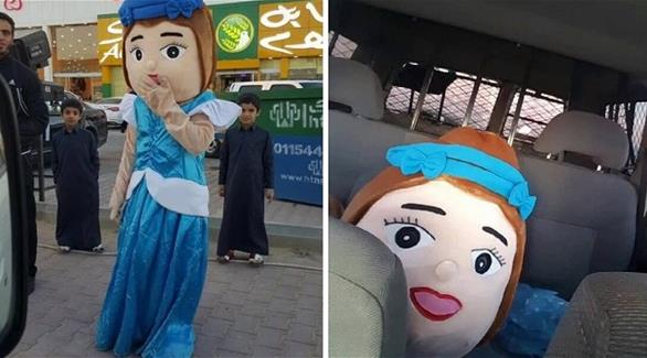 Saudi Arabia's vice police arrested this mascot at the opening of a sweet shop because .. it wasn't wearing the Islamic attire