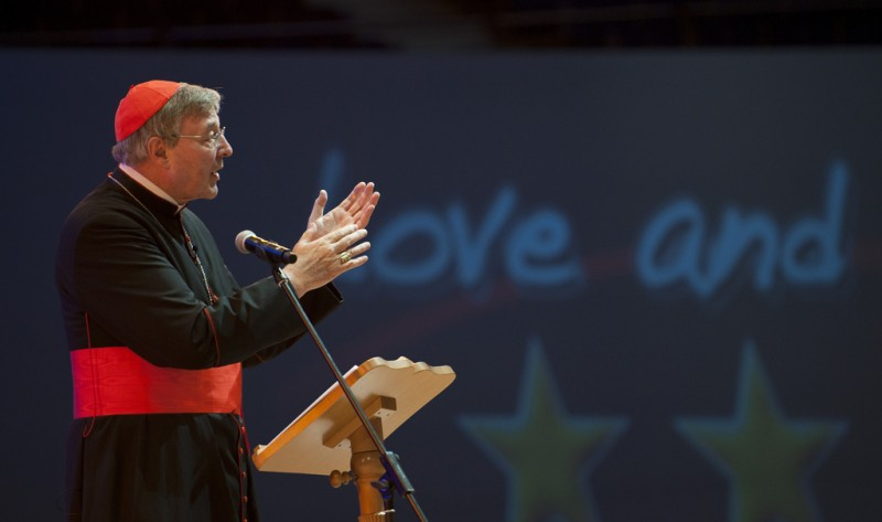 Cardinal Pell at WYD 2011