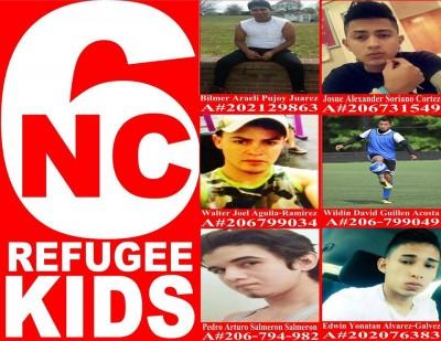 NC Refugee Kids <img src=