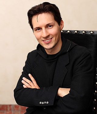 Pavel Durov in 2012. Image by Nick Lubushko, CC BY-SA 4.0.