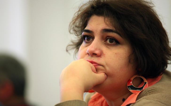Khadija Ismayilova (Foto:Aziz Karimov)