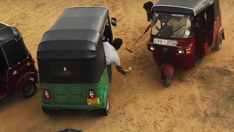 Tuk-Tuk Polo- Screenshot from Youtube Video