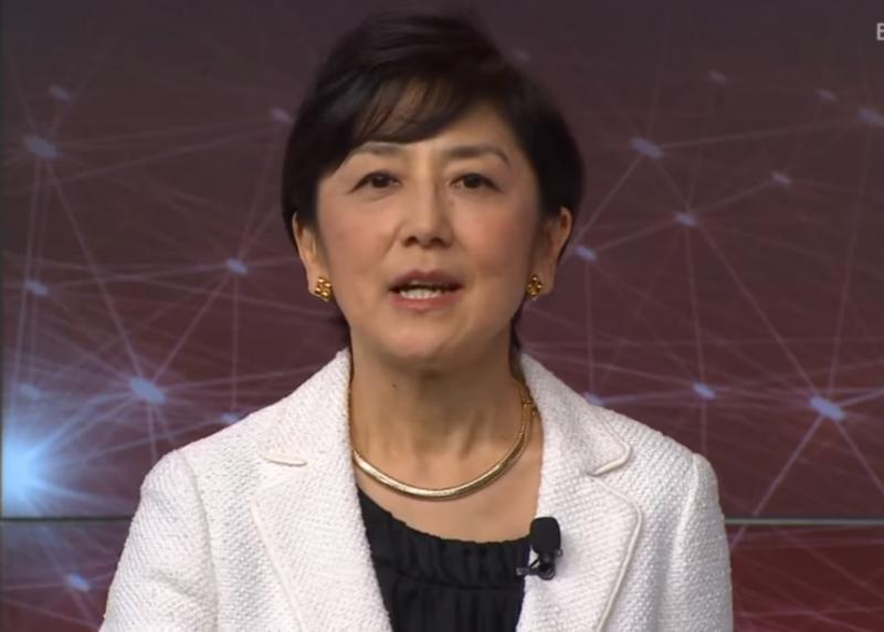 Kuniya Hiroko, announcer