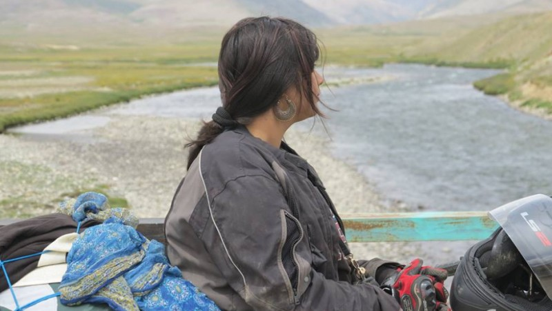 Zenith Irfan defied Pakistani social boundaries and set off to honor her father's legacy by taking a motorcycle trip across Pakistan from Lahore to Kashmir. She hopes her blog and videos will inspire future adventurers who aspire to end gender stereotypes in Pakistan. Credit: 1 Girl 2 Wheels/FB