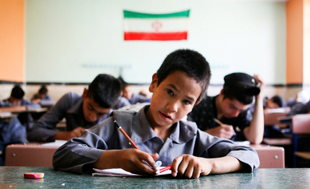 Afghan school children in Iran have been the subject of abuse and mistreatment. Photo from ICHRI and used with permission.