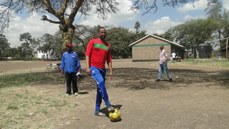 Абдулла Хассан, по прозвищу Фиш, прожил в лагере беженцев Дадааб в Кении в течение 23 лет. Фото: Абдулла Хассан/Courtesy