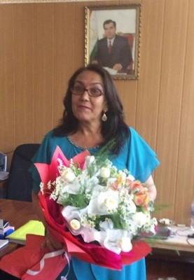 Known Facebook ladies of Tajikistan: Fayzinisso Vohidova