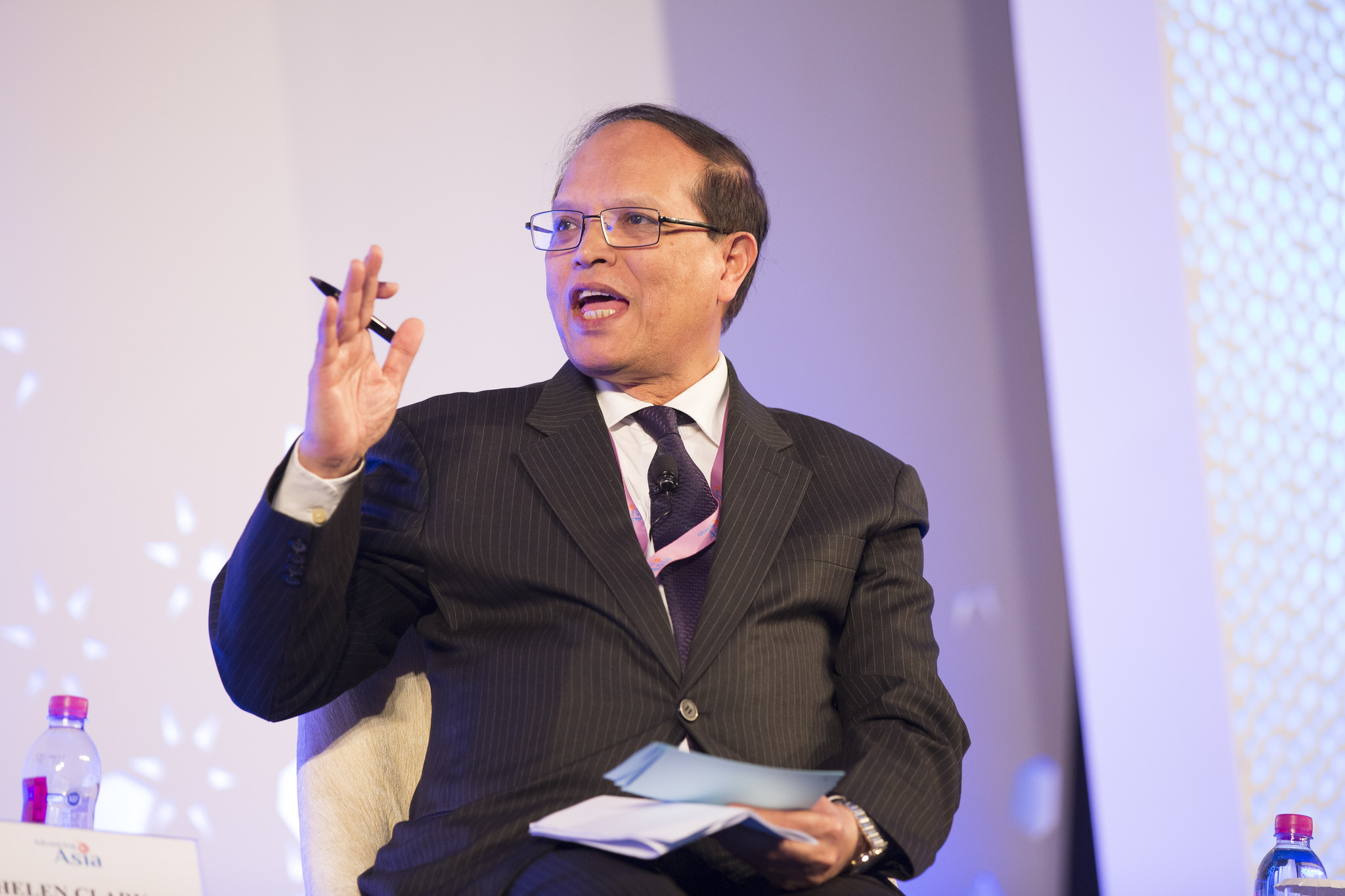 Atiur Rahman, Governor, Central Bank of Bangladesh. Image from Flickr by IMF. CC BY-NC-ND