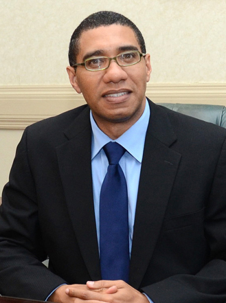 Andrew Holness, Prime Minister of Jamaica. Photo by The Commonwealth, used under a CC BY-NC-ND 2.0 license.