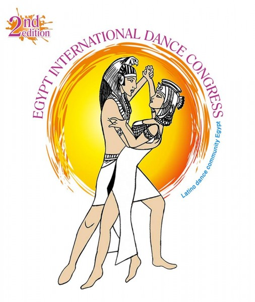Poster of the 2nd Edition of the International Salsa Congress in Egypt.