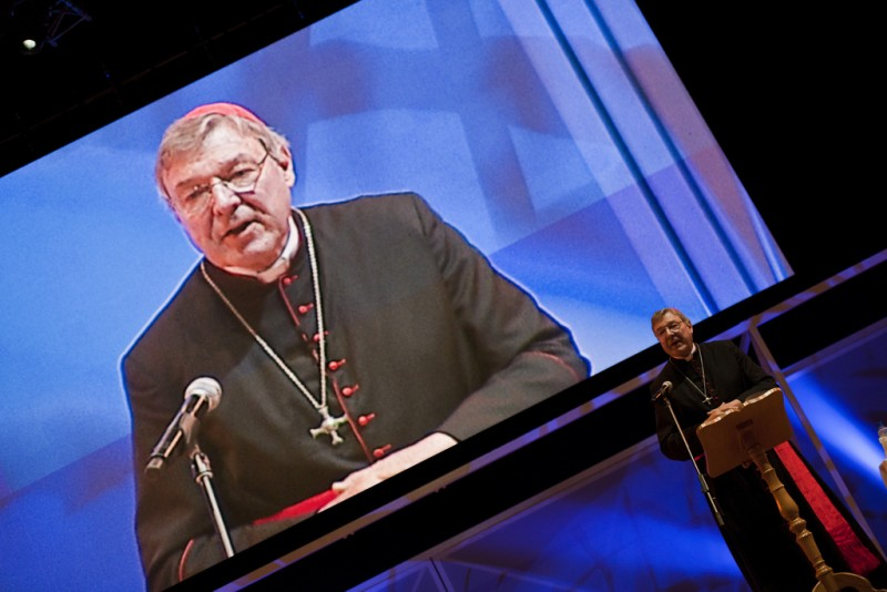 Cardinal Pell at World Youth Day 2011