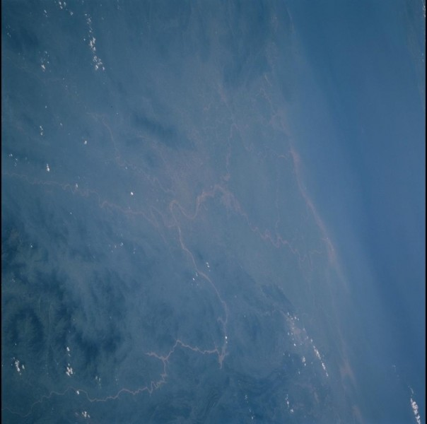 Red River Delta, Hanoi. Vietnam. Image courtesy of the Earth Science and Remote Sensing Unit, NASA Johnson Space Center