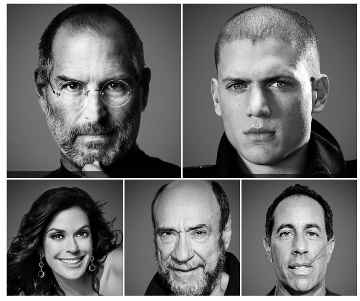Famous people with Syrian roots include Steve Jobs, Prison Break star Wentworth Miller, Desperate Housewives star Teri Hatcher, award-winning actor Murray Abraham and Jerry Seinfeld, says Moustafa Jacob