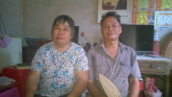 Wen Yunchao's parents. Via Twitter.