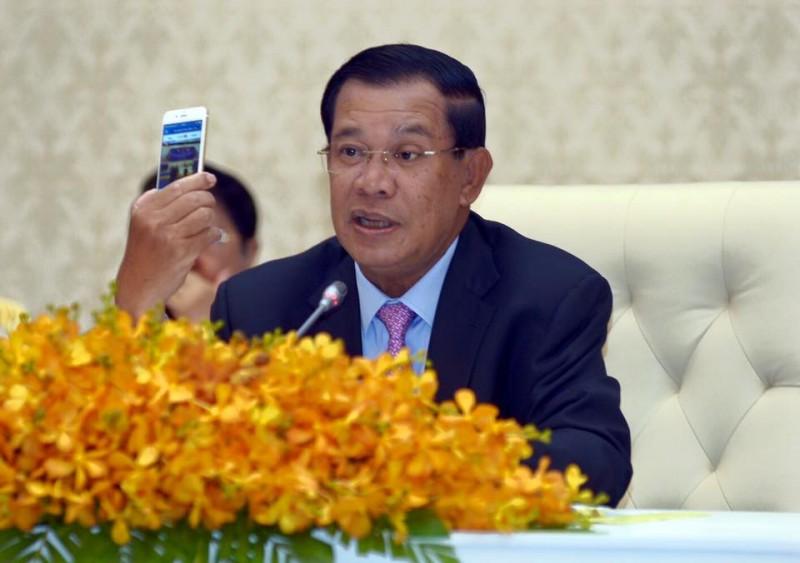 Cambodian Prime Minister Hun Sen. Source: Facebook